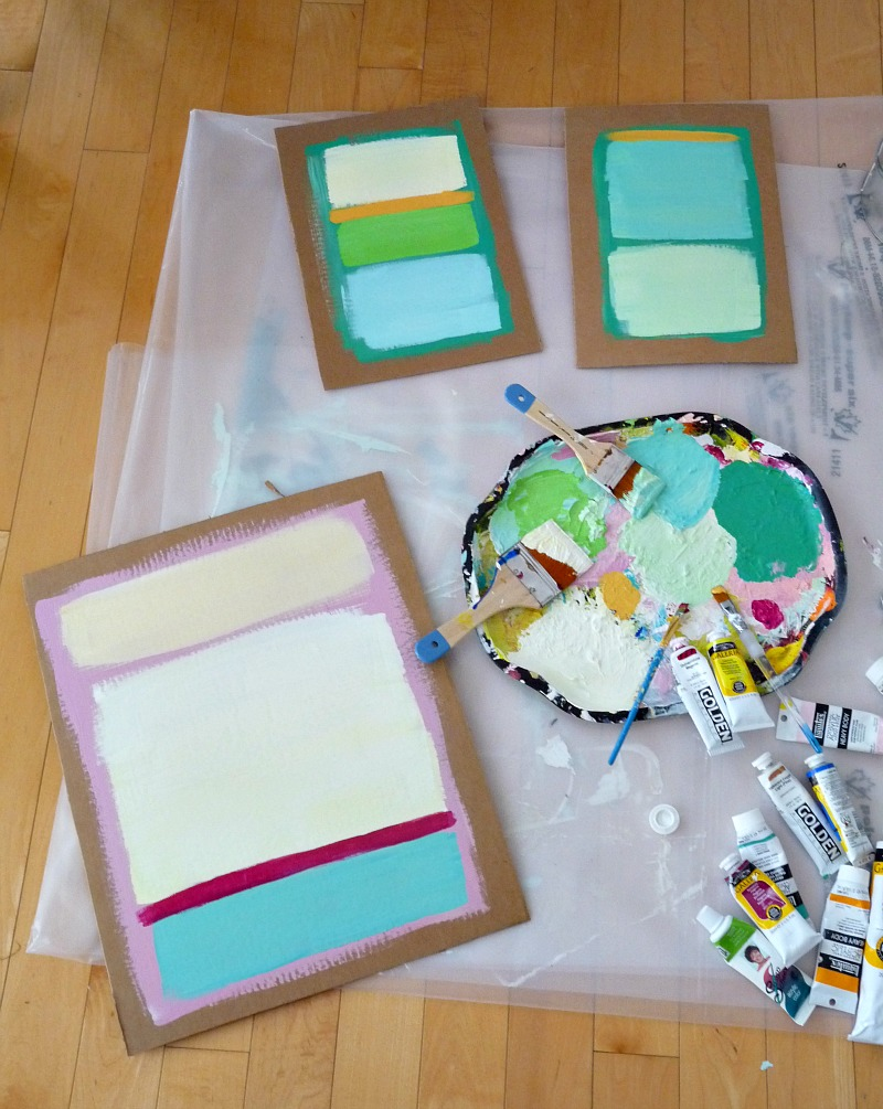 How to paint a Rothko-Inspired painting