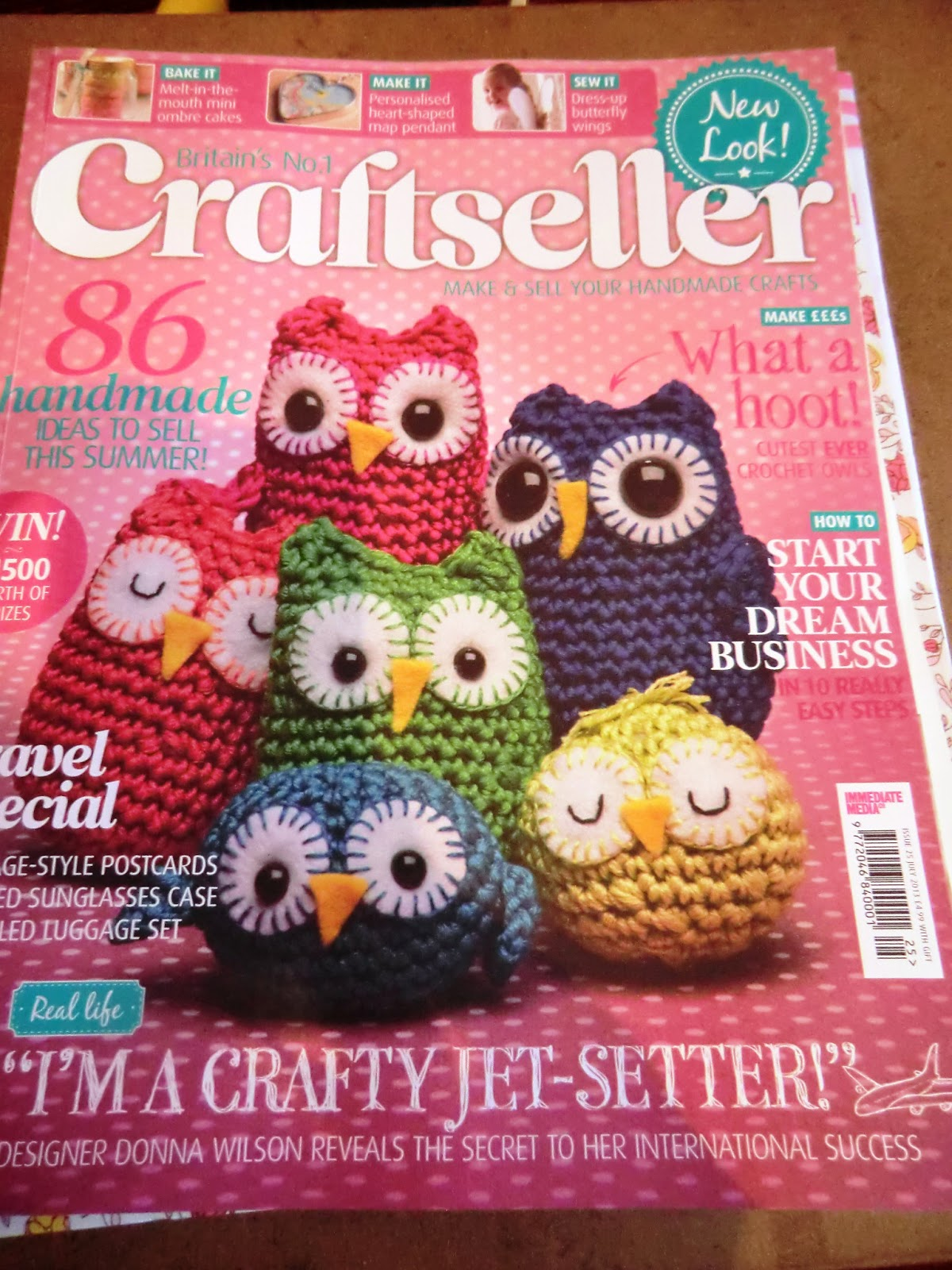 Amigurumi Craft Magazine : Amigurumi Barmy: Craftseller owls