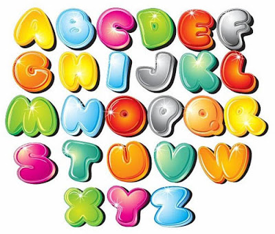 Graffiti Bubble Letters A-Z