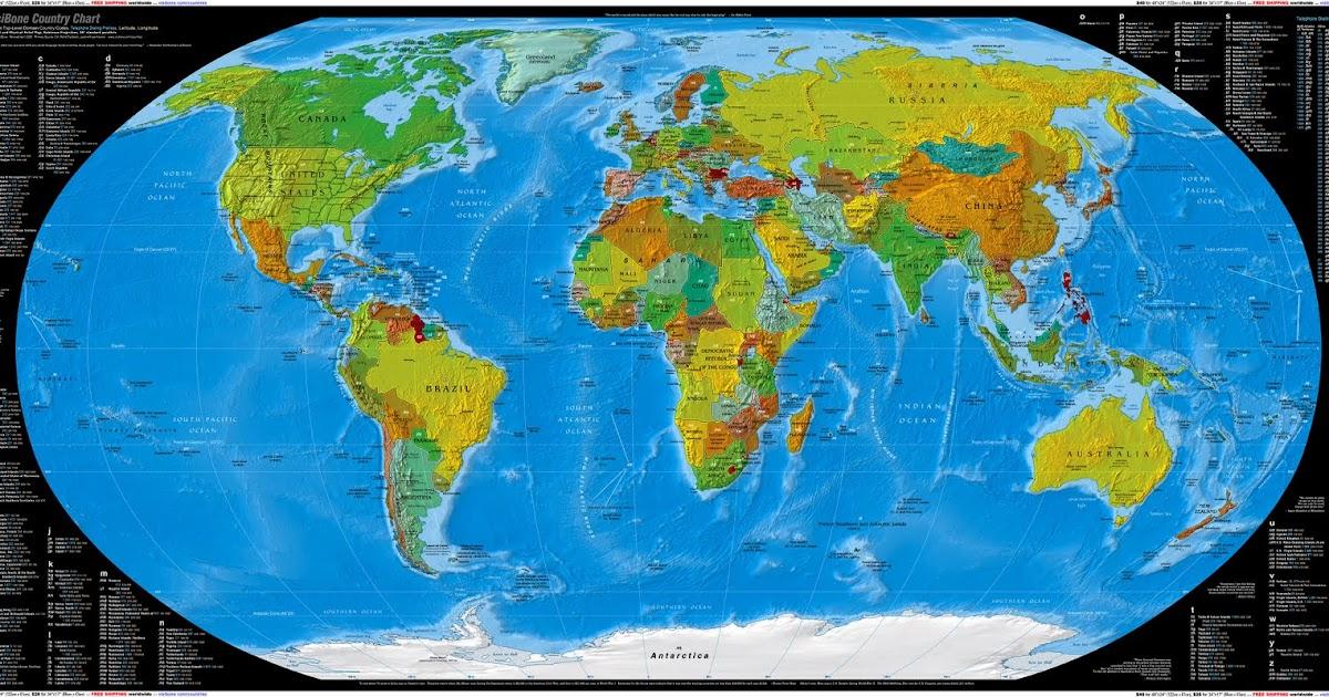 description mapa mundi hd - photo #14