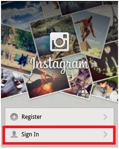 Cara Memakai Instagram Tampilan Awal Aplikasi Instagram
