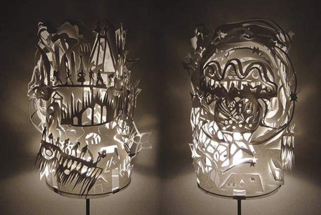 Cloud Lamps by Yu Jordy Fu