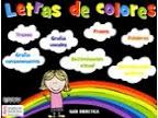 ATENCIÓN A LA DIVERSIDAD: LETRAS DE COLORES
