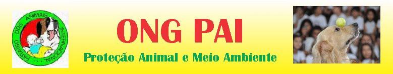 ONG PAI - protecao animal e meio ambiente