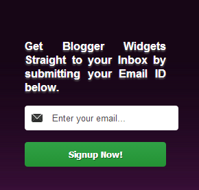 Rich Purple Customized Feedburner Email Subscription Widget For Blogger