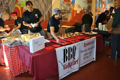 BBQ Godfather's booth at Houston BBQ Throwdown 2015