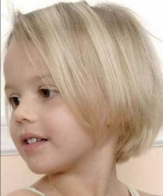 Model Rambut Cantik Untuk Anak Perempuan GayaRambutOrg - Gaya rambut pendek berponi
