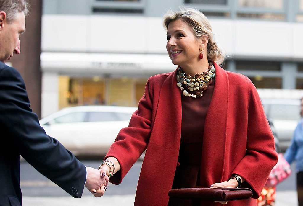 The Royal News Queen Maxima Attends The Financial