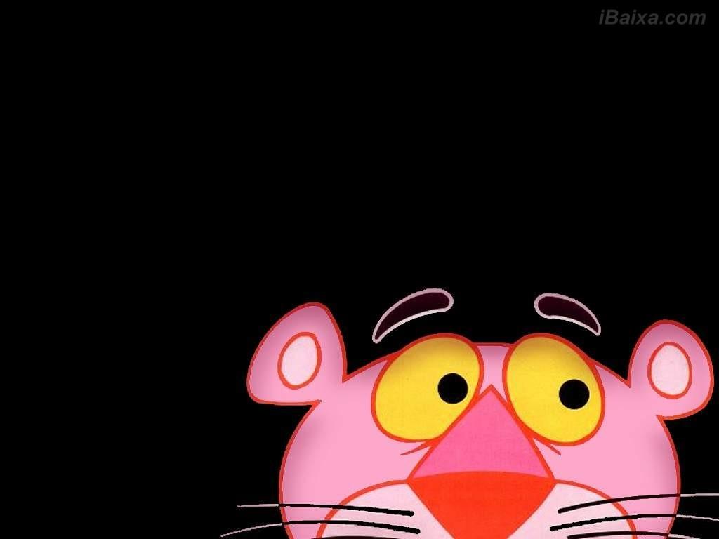 Papel de parede - Pantera cor de Rosa