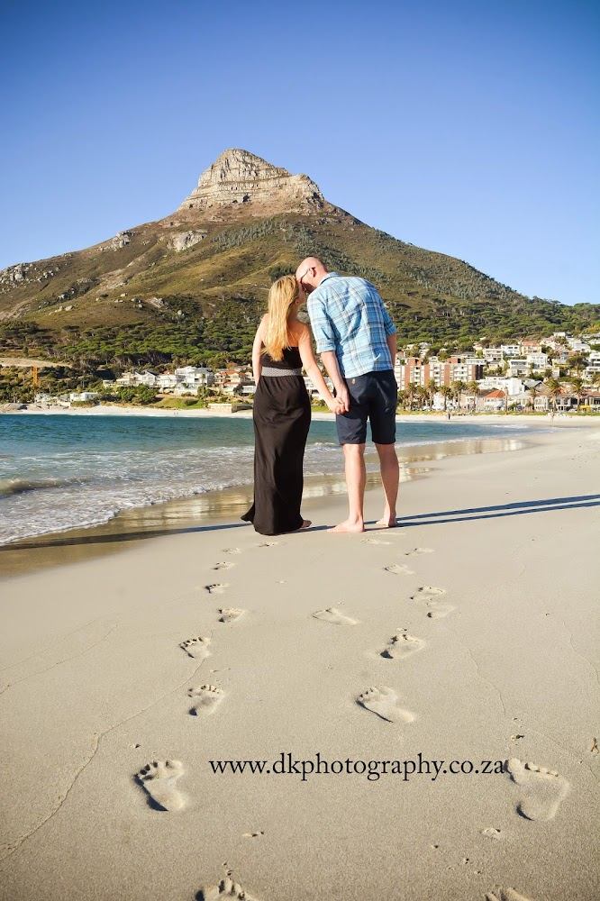 DK Photography M1 Preview ~ Megan & Wayne's Engagement Shoot on Camps Bay Beach