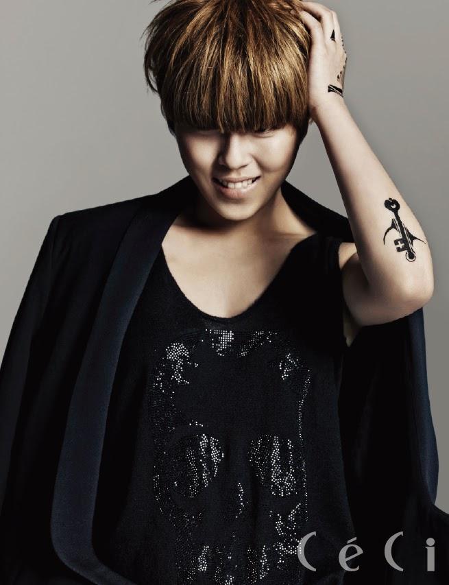 Dohee Tiny-G - Ceci Magazine February Issue 2014