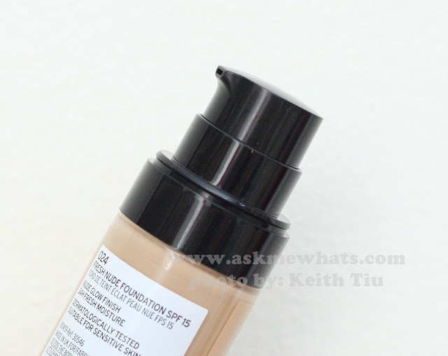 a photo of The Body Shop Fresh Nude Foundation