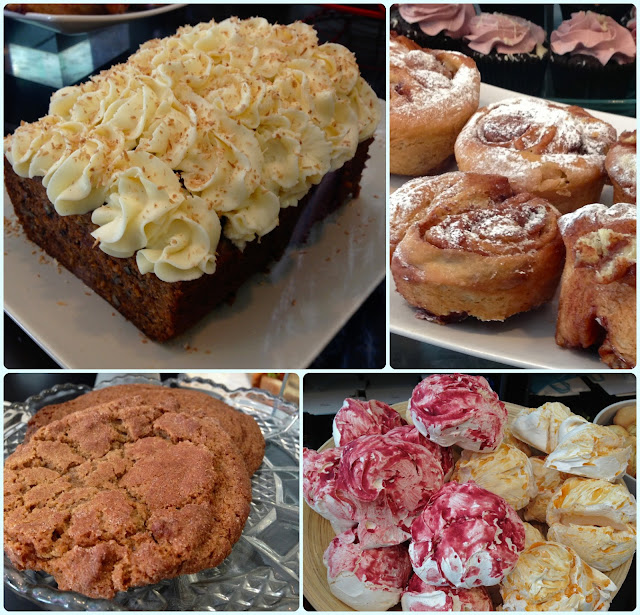 Bea's of Bloomsbury, London - Cake Display
