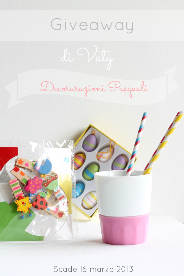 Giveaway di Vaty