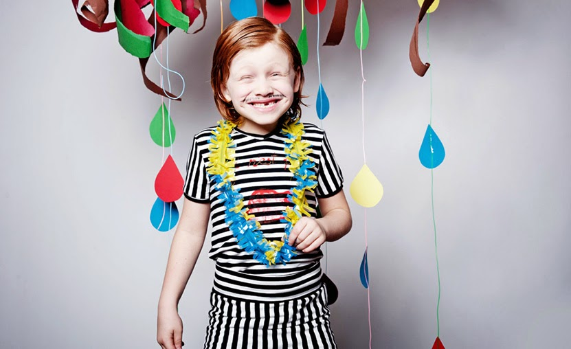 EFVVA spring 2014 handmade kids fashion collection