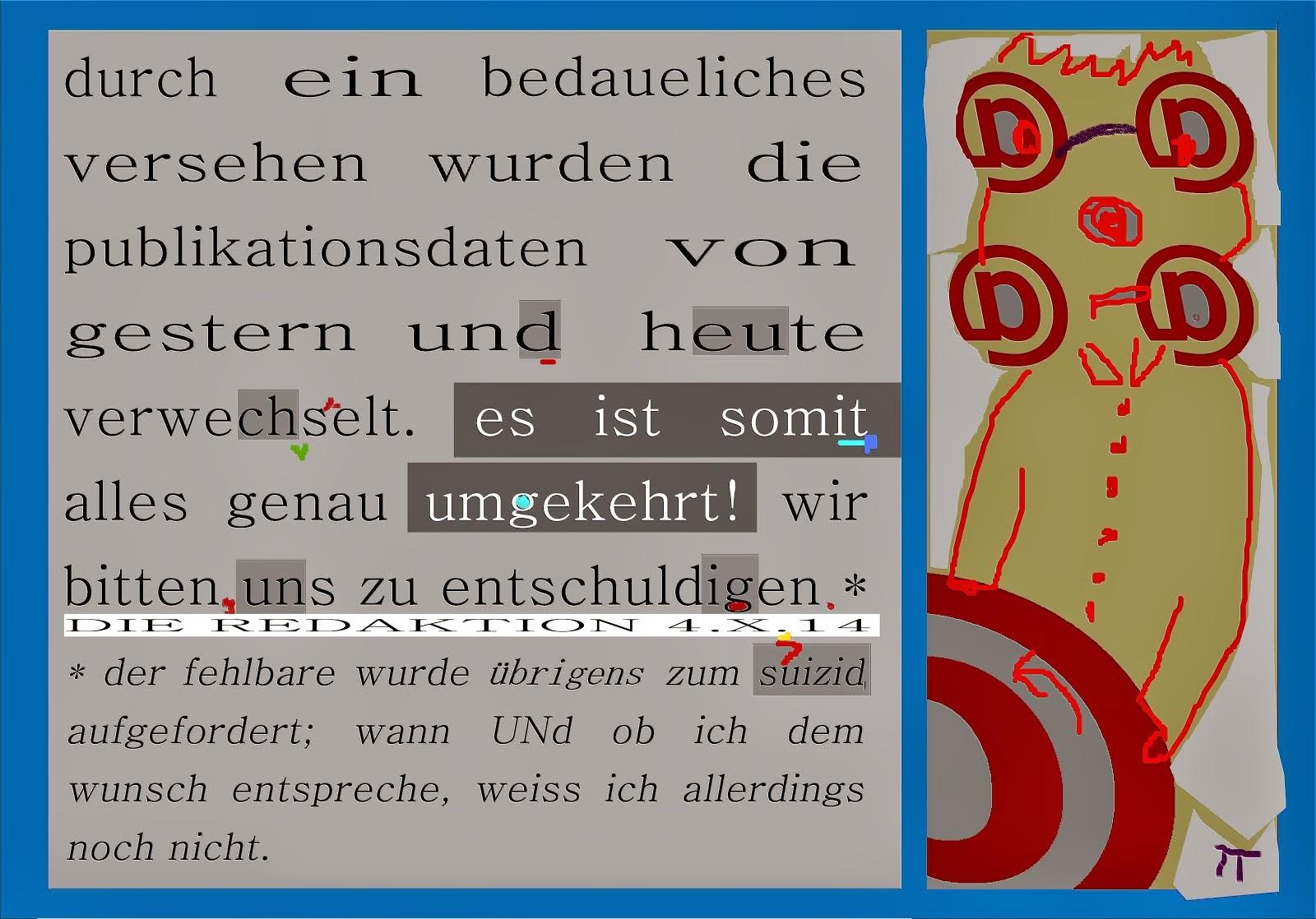 druckfehler berichtigung redaktion spass suizidaufforderung in deutschland straffrei
