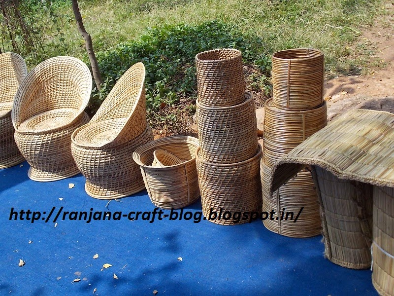 Bamboo craft of chattisgarh for Crafts using bamboo