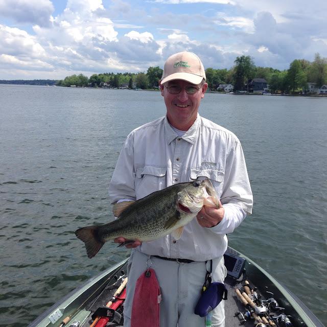 Bass junkies fishing addiction chautauqua lake photo for Tournament fish weighing scales
