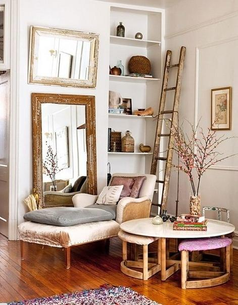 Stepladder home decorating Ideas