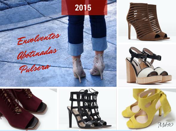 zapatos y sandalias primavera  verano 2015 tendencias