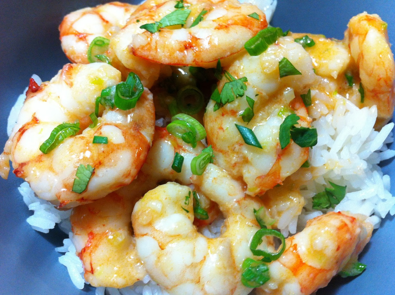 Cooking with SAHD: Red Thai Coconut Curry Shrimp