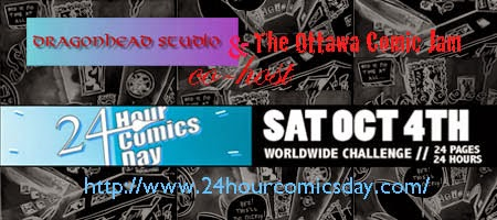 October 4th 24 Hour Comics Day!