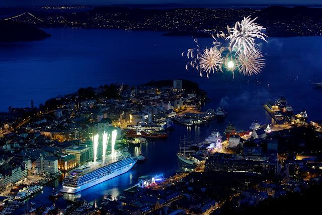 The Viking Star Christening Celebration Event May 17, 2015, in Bergen, Norway. Photo: © Viking Cruises. Unauthorized use is prohibited.