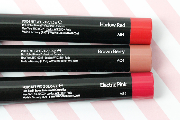 Intense Lip Color: Bobbi Brown Art Stick (Christmas Set)