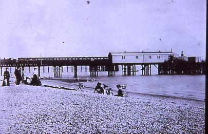 Stokes Bay Pier 1890s