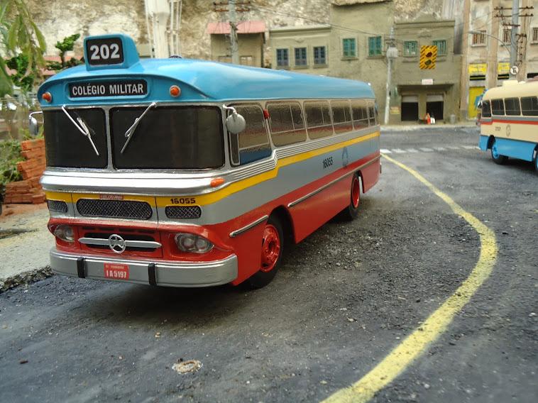 Miniatura do ônibus Cermava 2 ª edição 2012