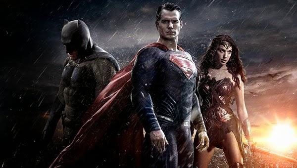 Batman V Superman: Dawn of Justice fan poster