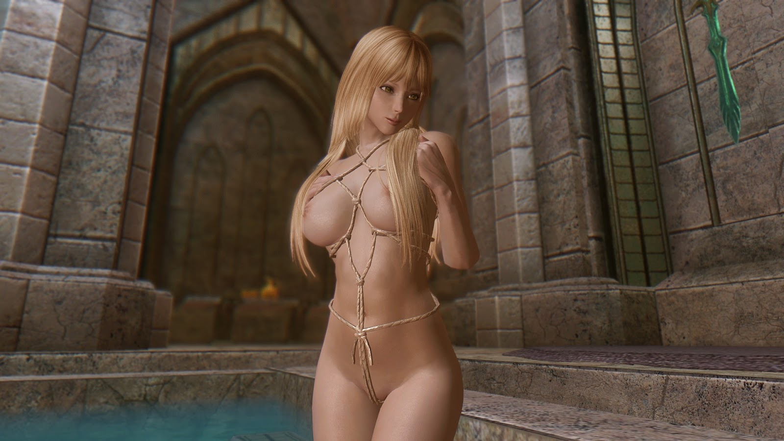 Skyrim nude models sex movies