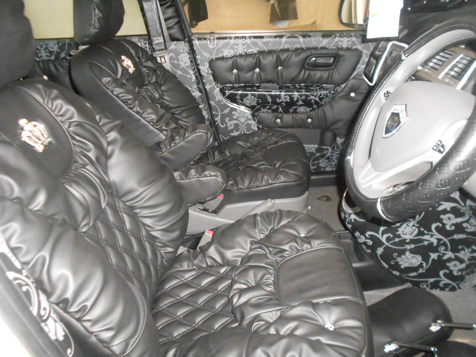 then leather vip seat leather seat car interior design december 2012. Black Bedroom Furniture Sets. Home Design Ideas