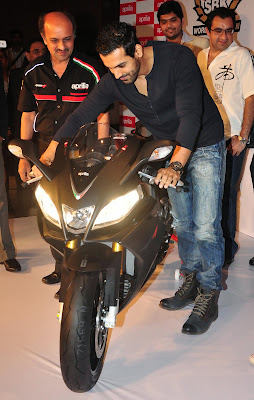 John-Abraham-on-new-Black-Aprilia-RSV4-pics-photos