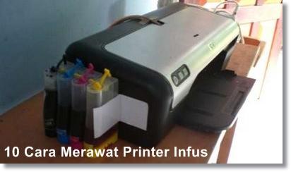 tips perawatan printer infus
