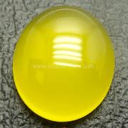 Batu Permata Yellow Calchedony - SP751