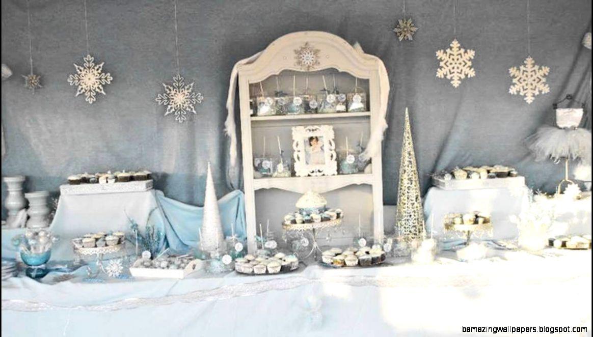 Stunning Winter wonderland birthday party ideas   YouTube