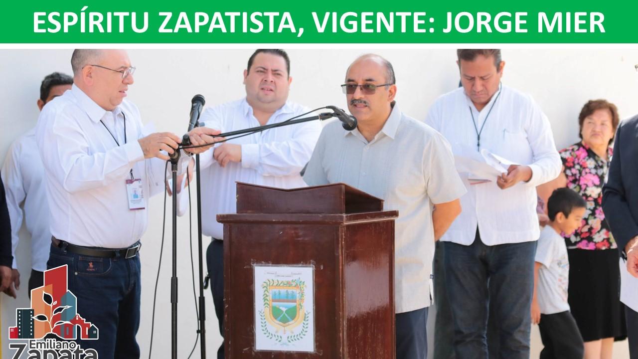 ESPÍRITU ZAPATISTA, VIGENTE: JORGE MIER