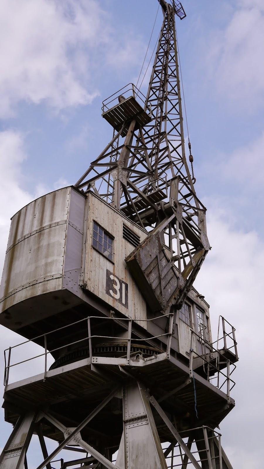 Bristol Harbour Crane