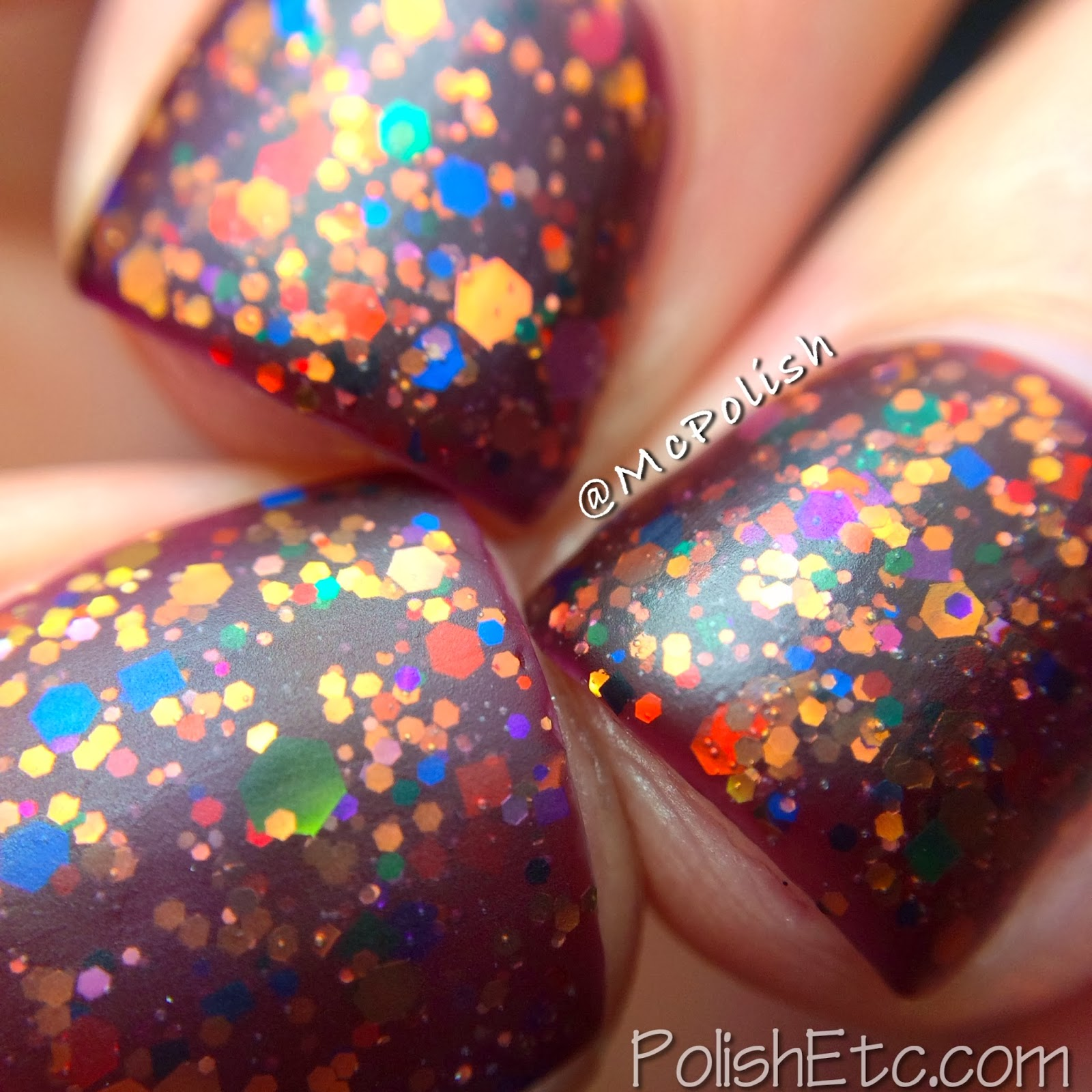 Loaded Lacquer Jiggles - Acai Berry macro