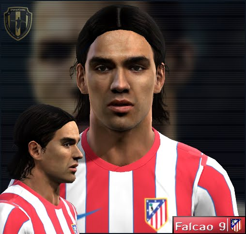 Radamel Falcao Face by nickless