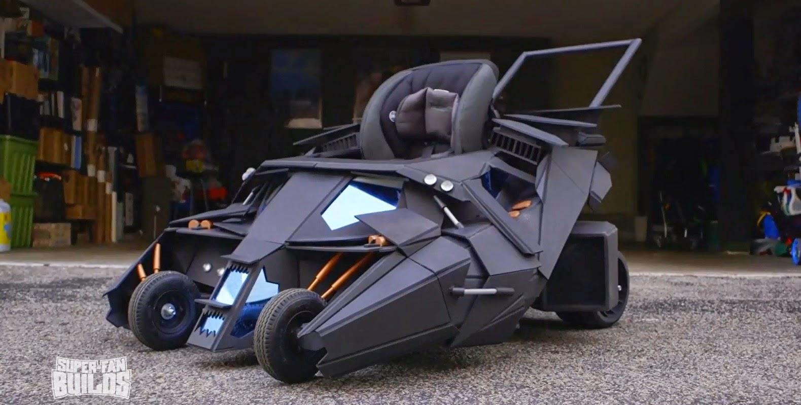 Einzigartig Batmobil Als Kinderwagen Myauto24 Das