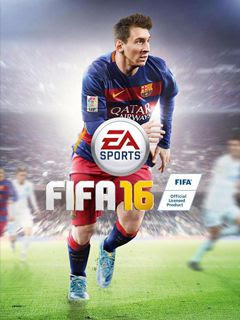 Screenshots of the FIFA 16 for java mobile, phone.