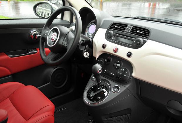 2012 Fiat 500c Cabriolet Interior