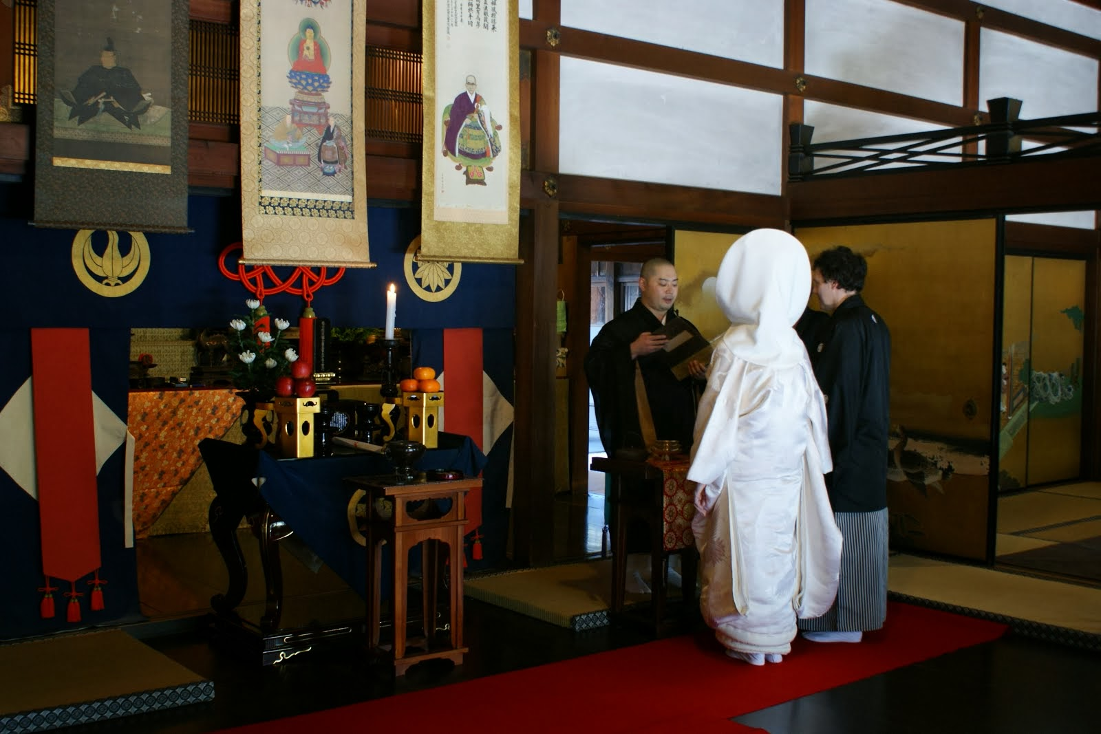 Buddhist Style Wedding Service