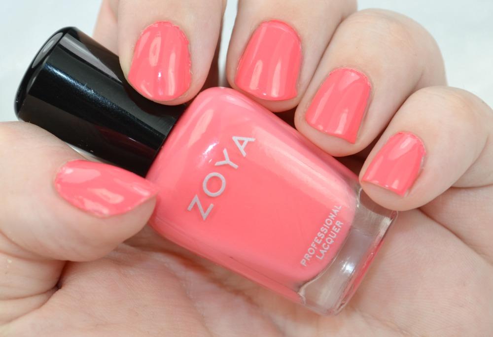 Zoya Coral Zoya Tickled Nail Polish in