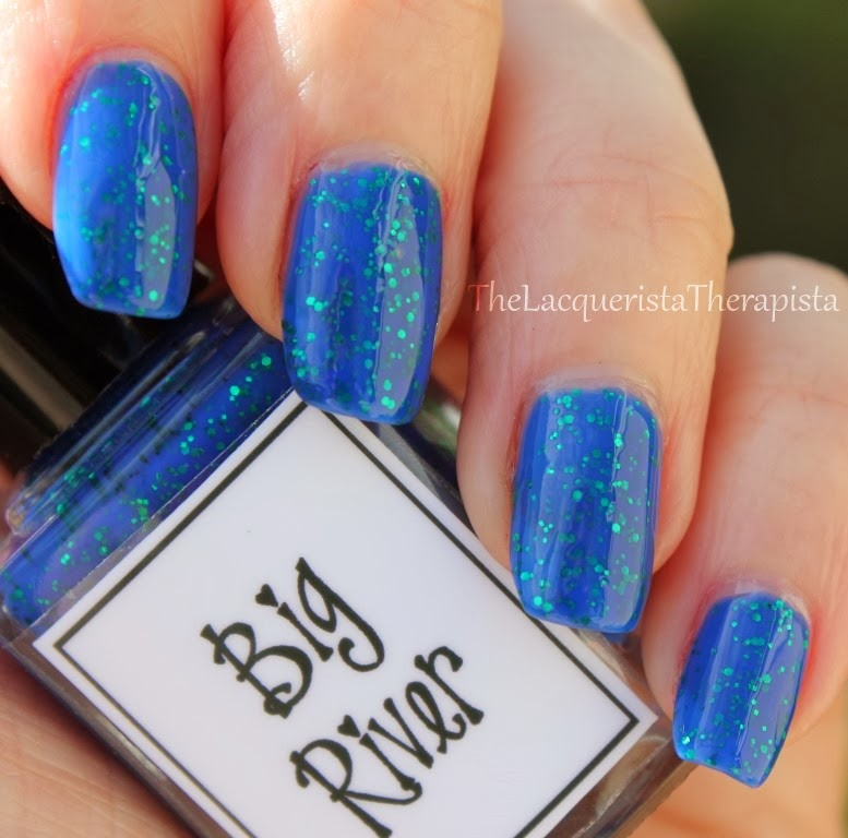 jelly, glitter, blue, green