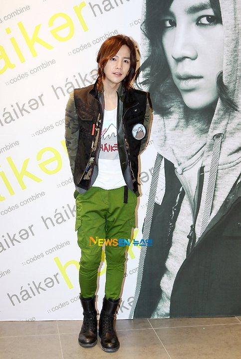 Rocker Fashion☀Jang Geun Suk