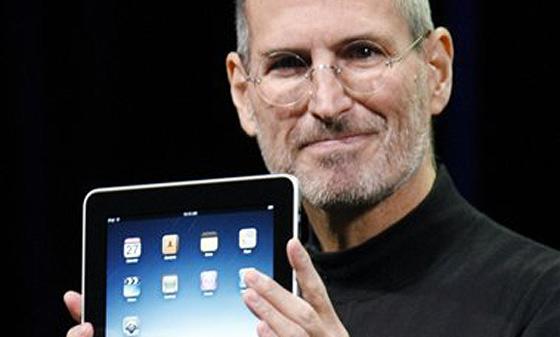賈伯斯iPad