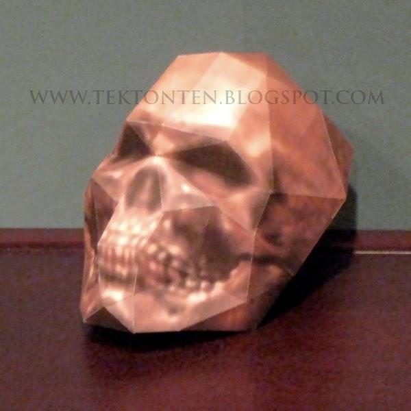 Wolfenstein Skull Papercraft